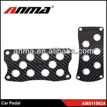 2013 ANMA aluminum car auto pedals pad lighted pedal