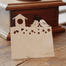 Wedding Invitation RSVP <strong>Cards</strong> Blank Wishing Well <strong>Cards</strong> Laser Cut Thank You <strong>Cards</strong> with Envelope