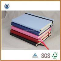 Promotional School PU Notebook, High Quality School Supplies,School Note book for student
