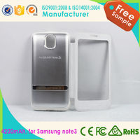 hot selling mobile phone accessories power bank case 4200mAh for samsung galaxy note 3