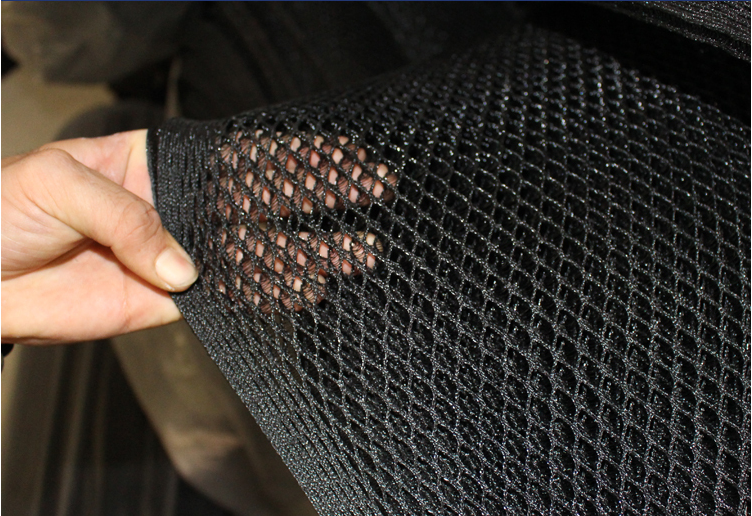 Raschel Knitted Mesh Car Seat Cover Fabrics
