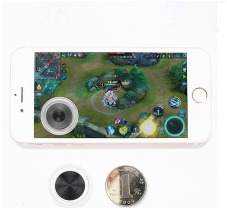 360 Silicone Phone Joystick 3 Screen Touch Joypad For iPhone Game Pad