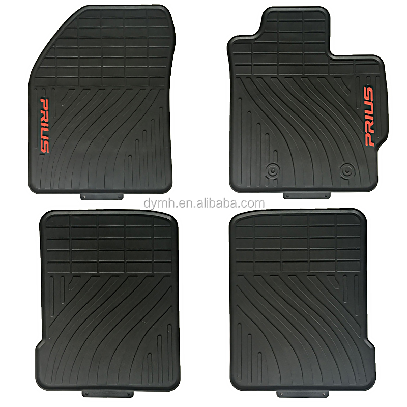hot sale right hand driving rubber car mats for prius