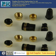 free sample brass turning centre band for pen, machined work,turning components