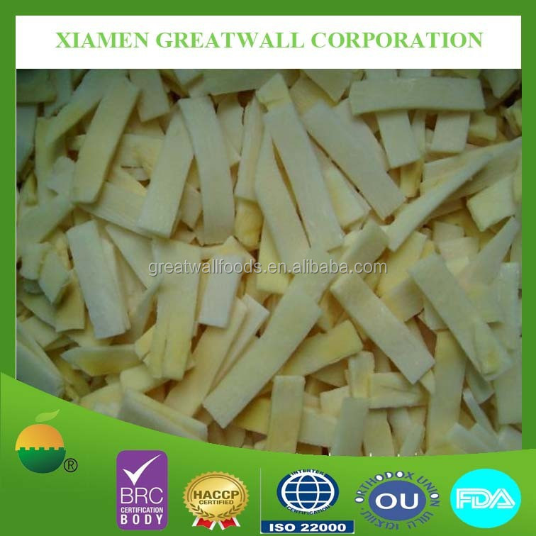 Hot selling frozen IQF bamboo shoot slices with best price