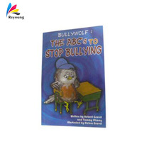 Cheap books printing service children activity book printing service