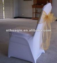 white wedding spandex lycra 4 stretch chair cover wedding organza chair sash