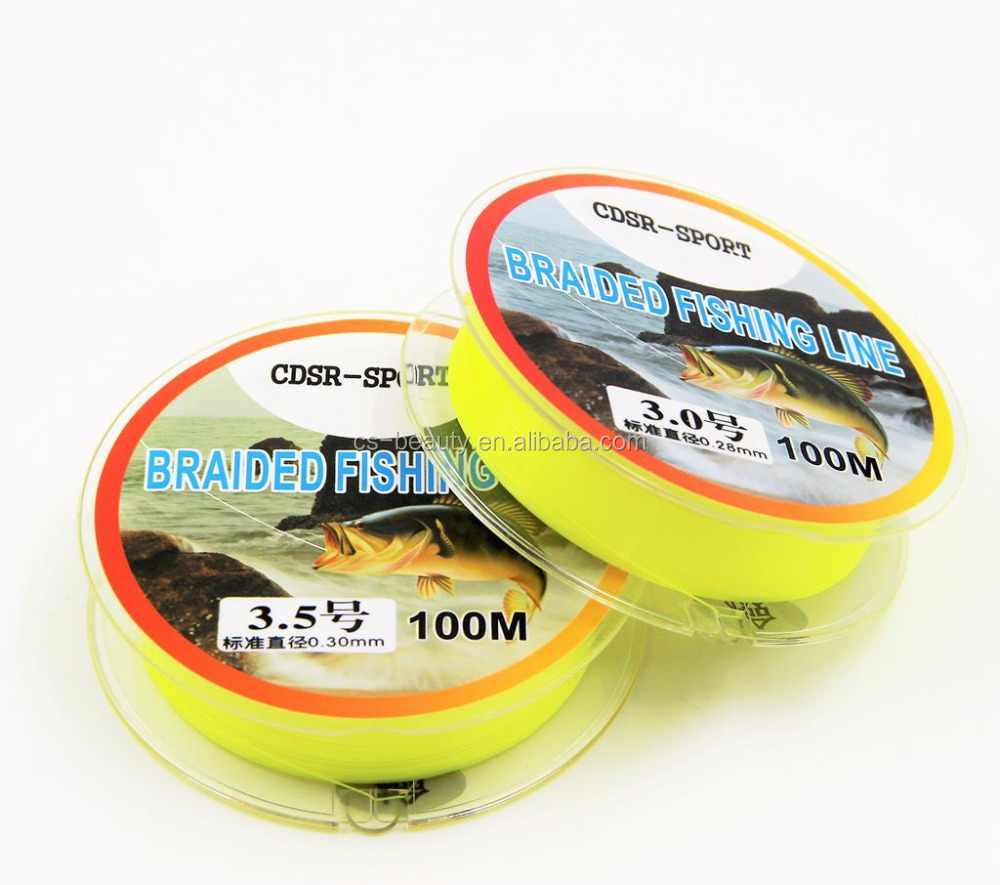 Brand New CDSR-SPORT 100M Fishing Tackle Fishing Line Super Strong Multifilament 100% <strong>PE</strong> Fishing Line