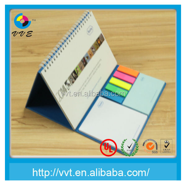 New Desk Calendar With Sticky Note Pad Buy Desk Calendar