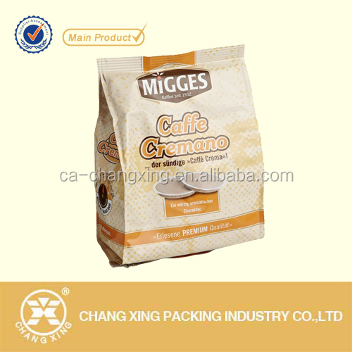 Square bottom paper bag for Oatmeal flour packaging
