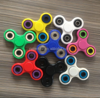 new design Ceramic Bearing Copper Brass Spinner bearing Relieve Stress Fidget Toys and HDPE or ABS Hand Spinner