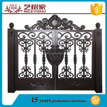 Yishujia factory Offer Free Gate Designs, aluminum outdoor gate design