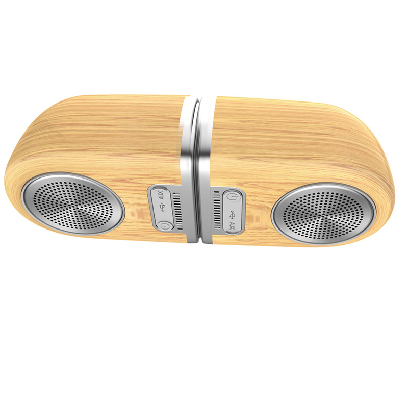<strong>D10</strong> Wooden Portable TWS <strong>Bluetooth</strong> Speaker <strong>Bluetooth</strong> Speaker Wireless <strong>Bluetooth</strong>