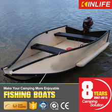 Diy plastic PVC fishing boats for sale