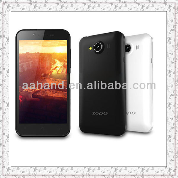 Original ZOPO ZP600+ Android 4.2 mobile phone 4.3inch 3D Screen MTK6582 Quad Core 1GB+4GB 5.0MP Camera GSM/3G/GPS/OTG/Wifi-dispa