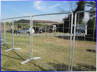 Hot Dipped Galvanized Removable Fencing/Temporary Fencing