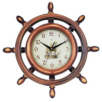 KH-0034 Most Welcomed Printing Logo Decorate Indoor Decor Round Silent Sweep Wall Clock