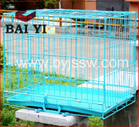 Double Plastic Dog Cage House in Car