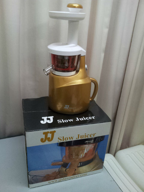 vertical slow press juicer