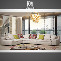Large Room L Shaped 6 People Simple Design Moroccan Modern Sofas