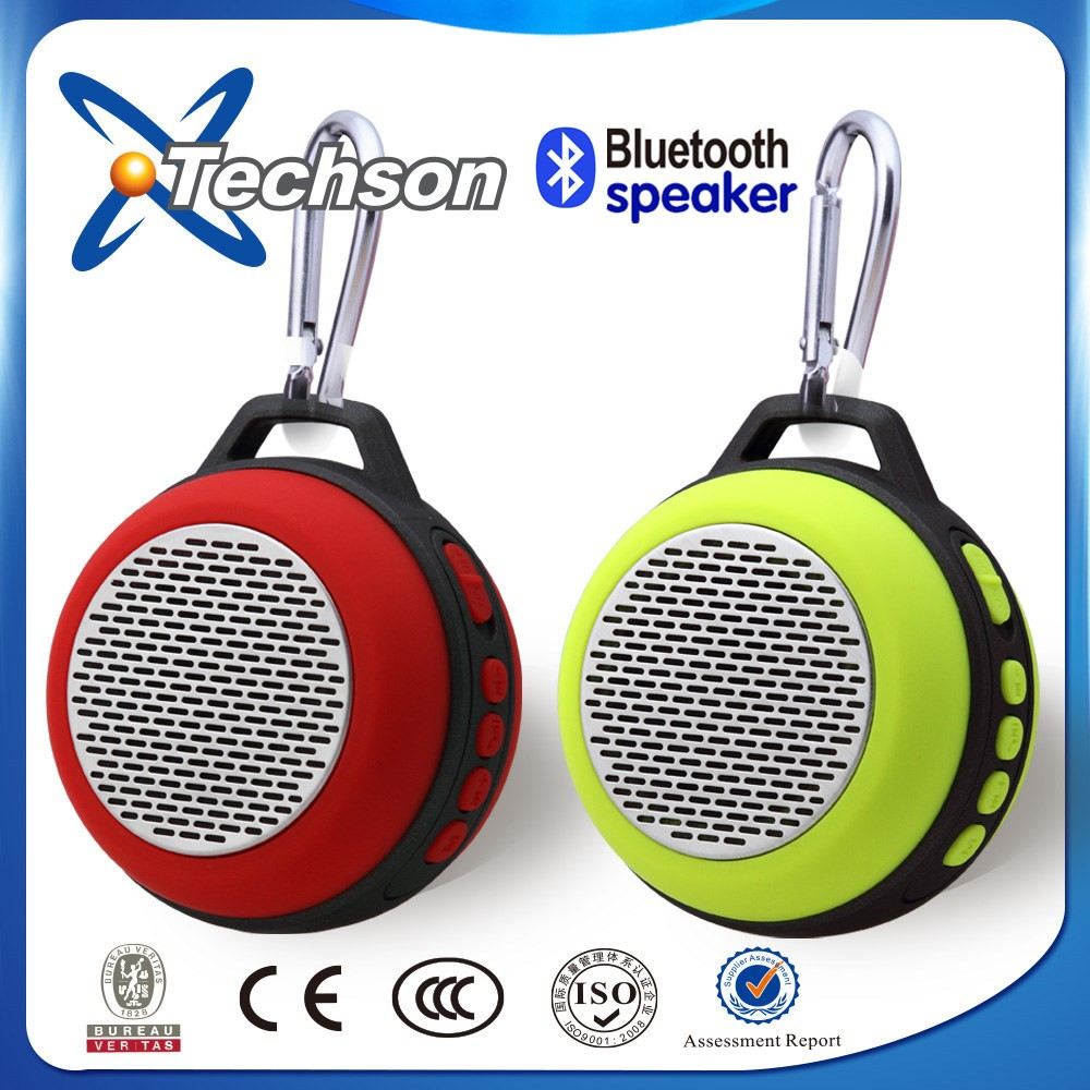 2016 portable Keyring Mini Bluetooth Speaker, best for promotion speaker