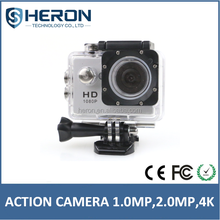 Heron new full hd sport camera waterproof 2k 4k action camera be unique wifi 1080P
