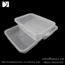 rectangle disposable plastic food container