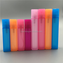 2ml 3ml 5ml 8ml 10ml 15ml 18ml 20ml square plastic fragrance perfume fine mist mini plastic body spray bottle