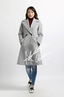 women fashion clothes new design winter overcoat ladies long coats