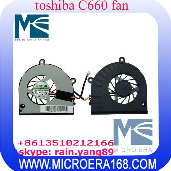 laptop cooling fan for Toshiba Satellite C660 C665 C655 C650