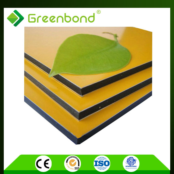 Greenbond best price NANO PVDF coated acm sheets tailored by needs