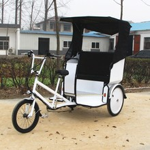 battery powered electric passenger auto rickshaw