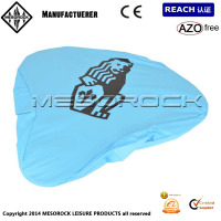 waterproof bike seat covers with custom print, bike saddle covers