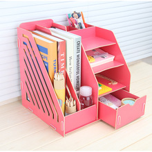 Wholesale office drawers Desktop DIY clench Eco-Friendly free sample customized universal file organizer