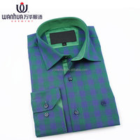 High Quality 100 Cotton Checked Long