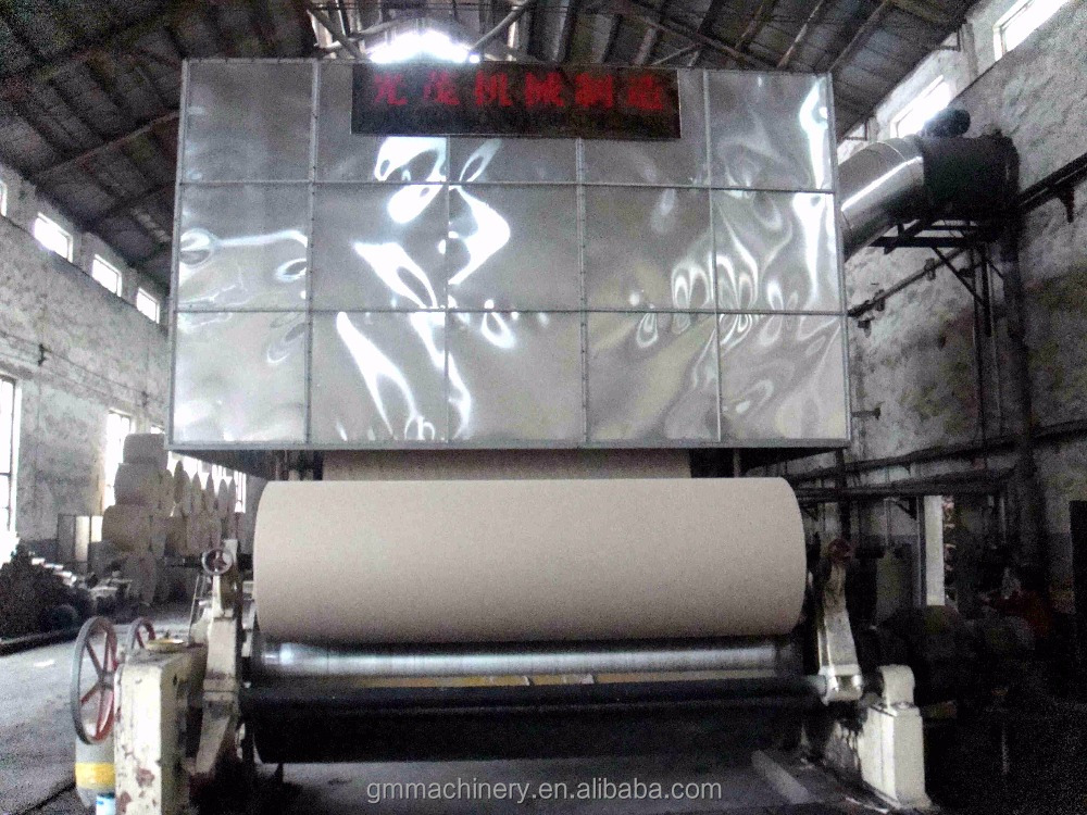New type 2400mm Cardboard Grey board paper machine price/paper making machine on sale