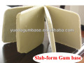 Slab-form gum base , Slab-shape gum base , Slab bubble gum base, Slab chewing gum base