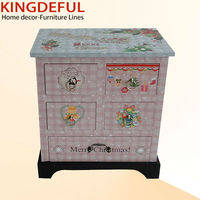 Novelty PU Leather Small Wooden Furniture