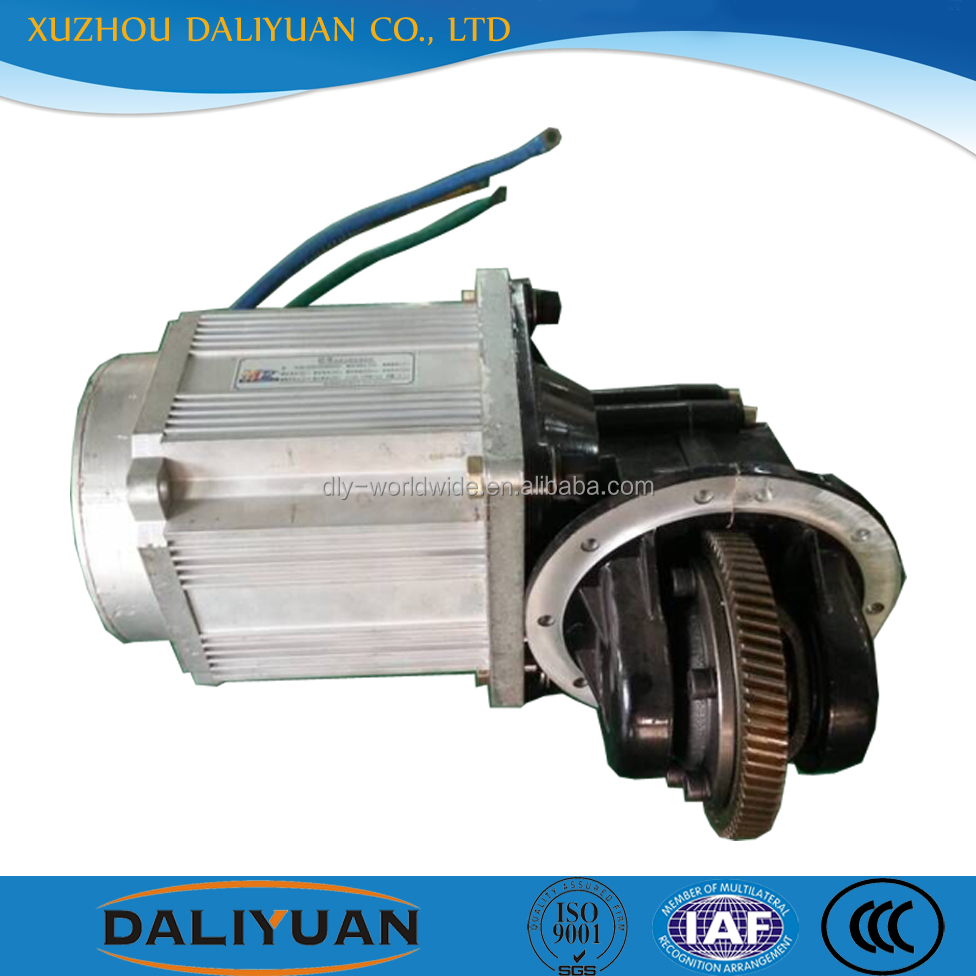 Daliyuan 60v 3000w 12v brushless dc motor brushless direct drive motor