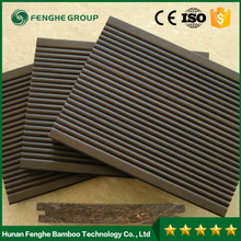 Natural waterproof outdoor bamboor decking flooring natural landscape bamboo house
