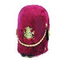 Military hats Regal 14 Inch with Metallic Gold Drapechain