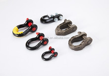 bow shackle 6.5T tough steel forged cast bow shackle great pulling capacity and 4x4 accessories off-road