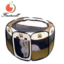 "Drop-Ship 45""Hot Portable Puppy Pet Dog Soft Tent Playpen Folding Pen"