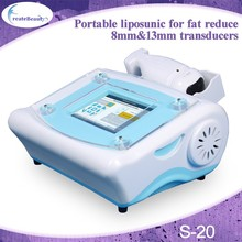 High Intensity Focused Ultrasound Penetrates Focused Fat reduction Lipo Liposonic machine