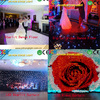 LED video curtain for night club/dj/wedding/party/stage