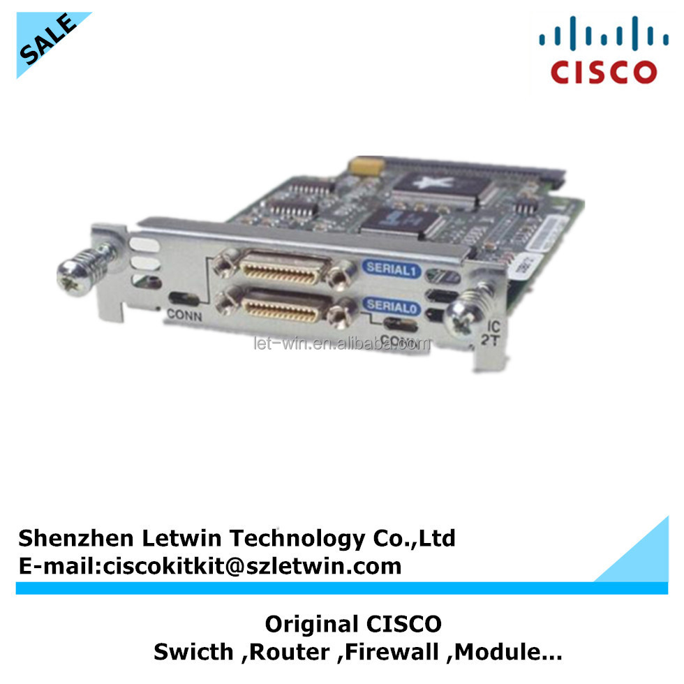CISCO HWIC-2T 2ports WAN interface module card