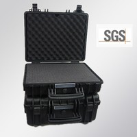 waterproof plastic case heavy duty plastic storage box + military storage container NO(443419)