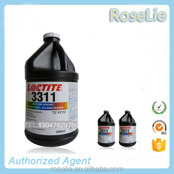 loctite 3311 uv glue acrylic adheisve 1L/loctite 3311 glass transition temp uv adhesive /loctite 3311 light cure adhesive 1000ml
