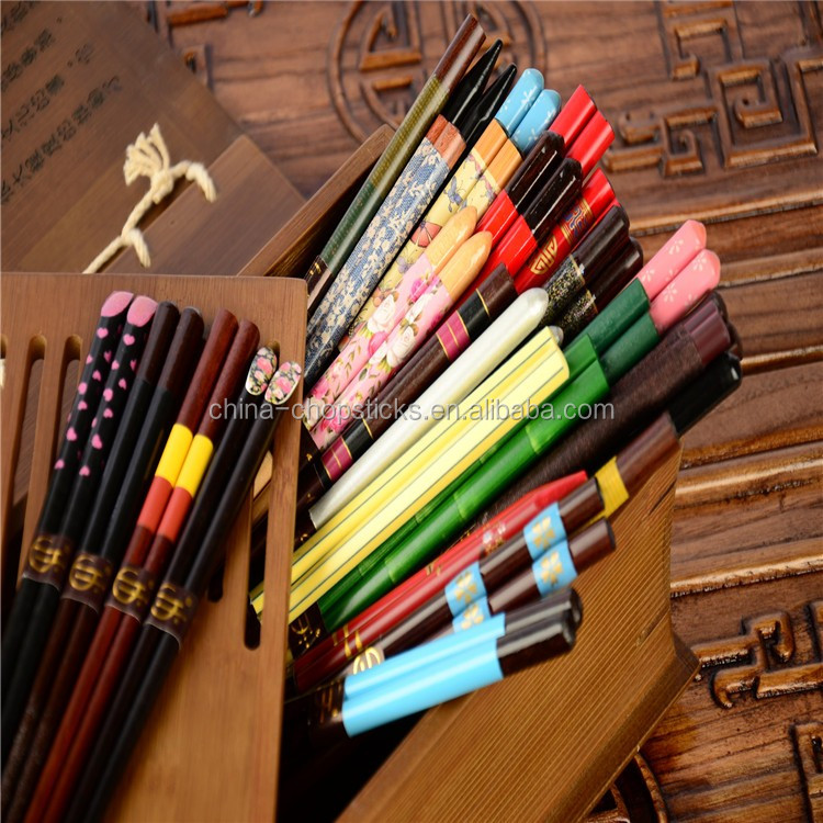 Handmade Chinese Custom round wood chopstick