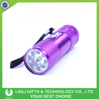 Advertising Small Aluminum Led Torchlight
